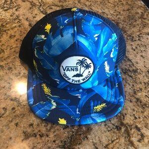 Vans Hawaiian 🌺 Adjustable snap back trucker hat